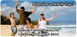 Discounts on Family Travel